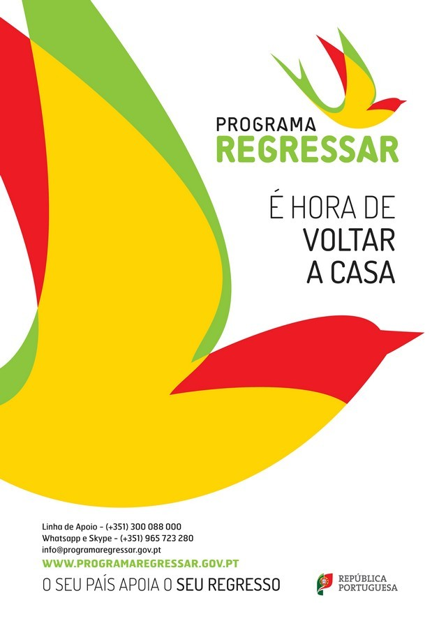 Cartaz do Programa Regressar